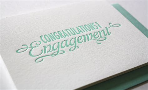 Stationery A ? Z: Engagement Congratulations Cards