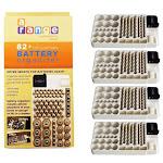Hawk Wkt4162 4X Battery Storage Rack Holder Tester Case Box Organize Holds 82 AA AAA 9V Save