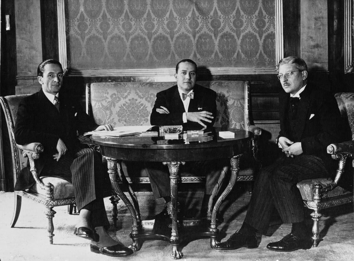 File:Guido Schmidt, Galeazzo Ciano, Kurt von Schuschnigg, 1936.jpg