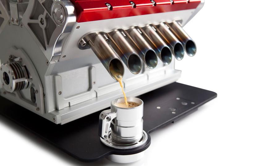 Espresso V12 referencias máquina de Fórmula Uno los motores