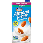 Blue Diamond Almond Breeze Unsweetened Almond Milk - 32 fl oz