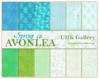 Spring in AVONLEA- zestaw papierów/ paper set