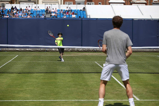 Dylan plays tennis with Andy Murray! – News – Andy Murray Official Site