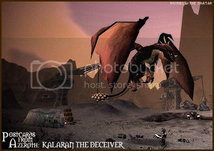 Postcards of Azeroth: Kalaran the Deceiver, by Rioriel Ail'thera
