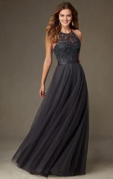 Cheap Grey Bridesmaid Dress BNNCL0012 Bridesmaid UK