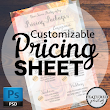Pricing Sheet PSD