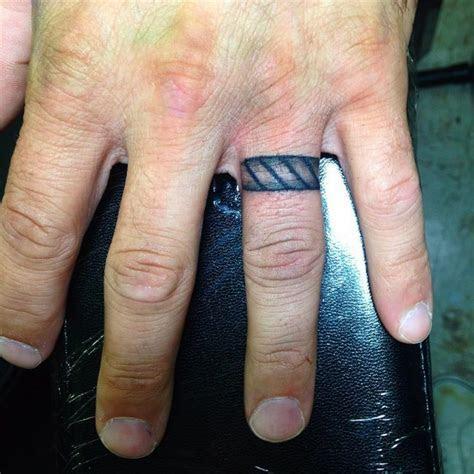 55  Wedding Ring Tattoo Designs & Meanings   True