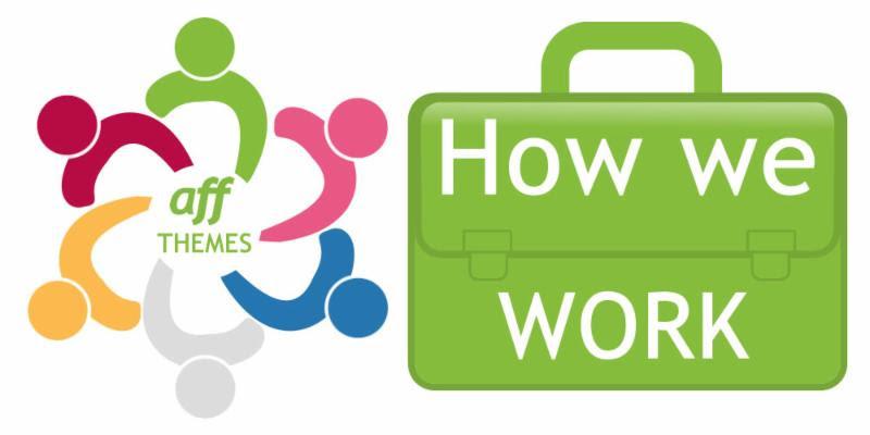 How we work logo