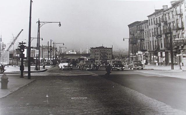 Atlantic Avenue 1950 without BQE