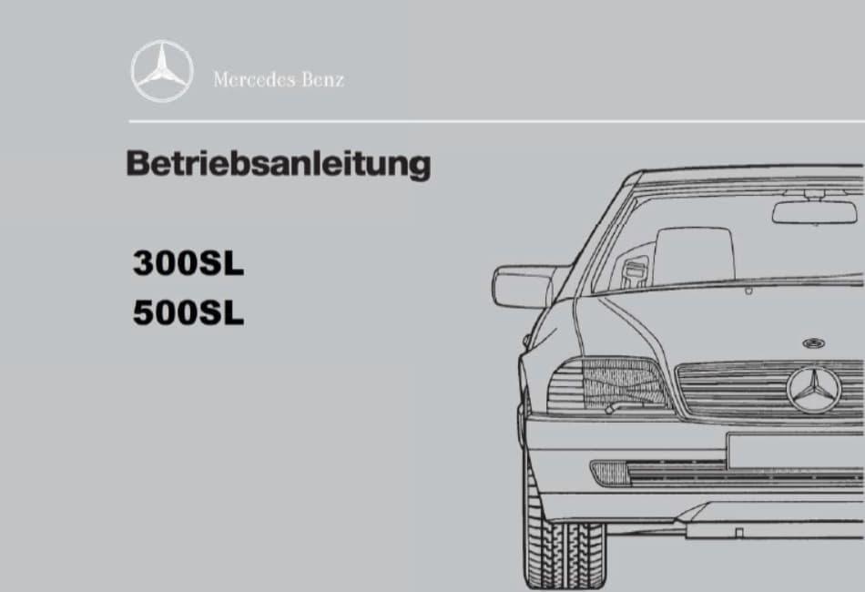 Bedienungsanleitung Mercedes R129 Pdf