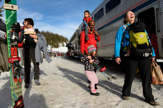 The magic, romance and sustainability of the Winter Park Express ski train