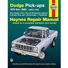 Dodge Full-Size Pickups: 1974 Thru 1993