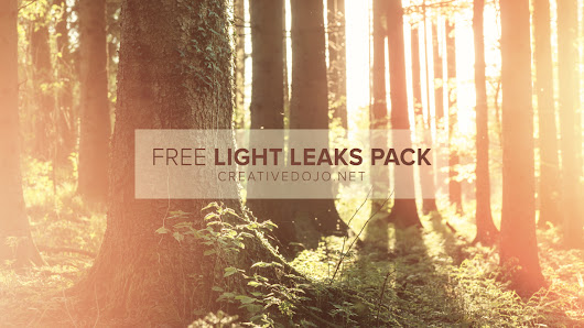 Free Light Leaks Pack | CreativeDojo