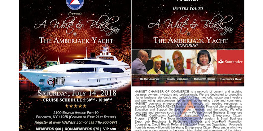 The White & Black Affair at the AmberJack Yacht