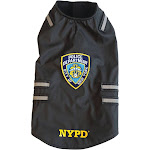 Royal Animals 13Z1007R NYPD Dog Vest with Reflective Stripes (Large)