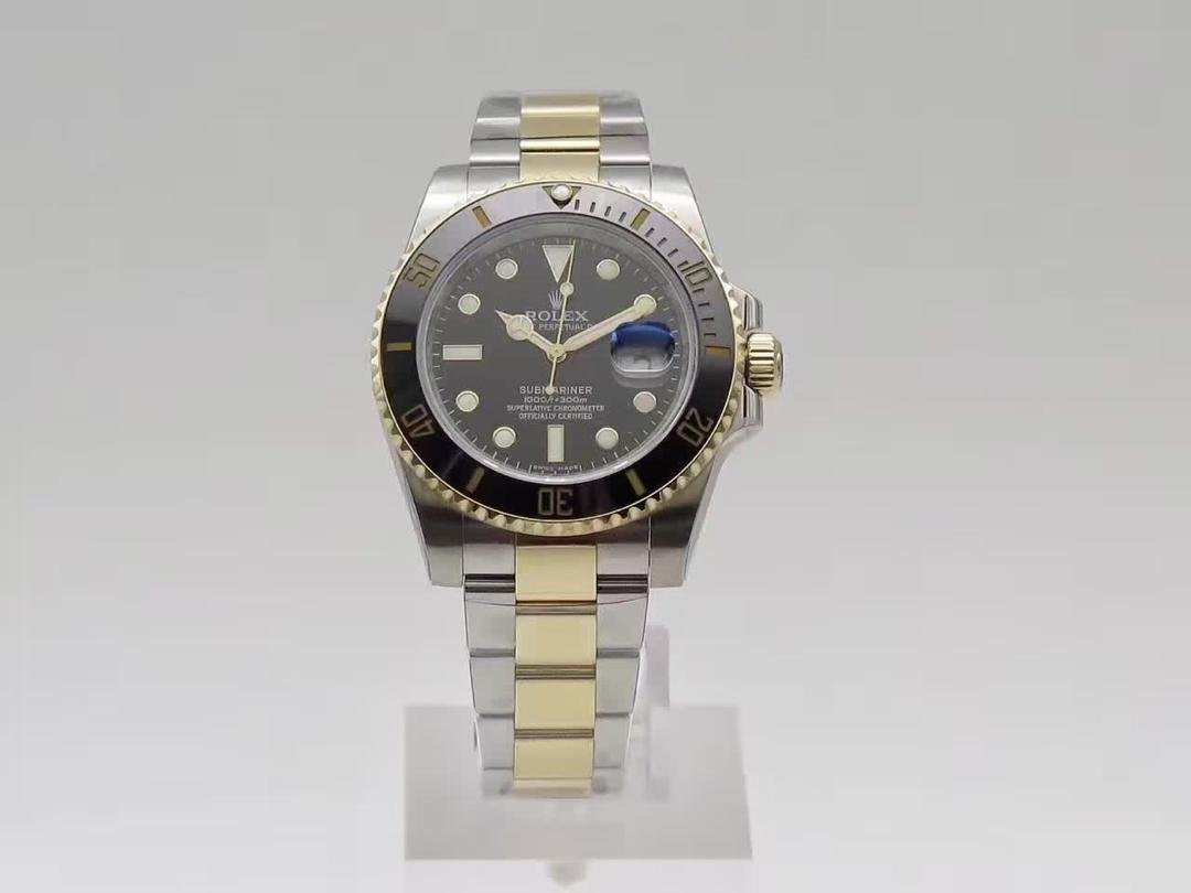 Rolex Submariner 116613 Two Tone Replica Watch