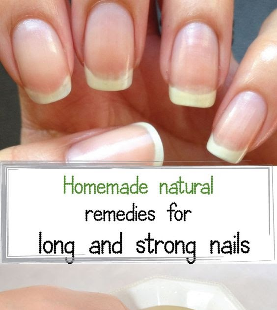 Strengthening And Garlic Growth Nail
