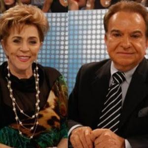 O crítico José Messias ao lado da também ex-jurada Marly Marley, morta em 2014