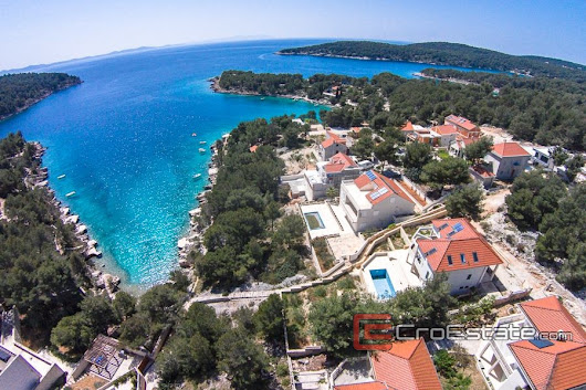 Croatia,Brac - Beautiful villa with the sea view, for sale