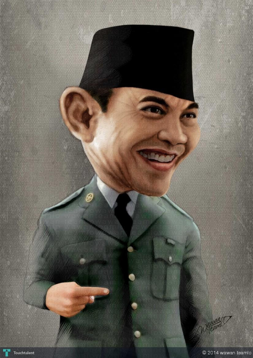 36 Wallpaper Soekarno 3d Pickini