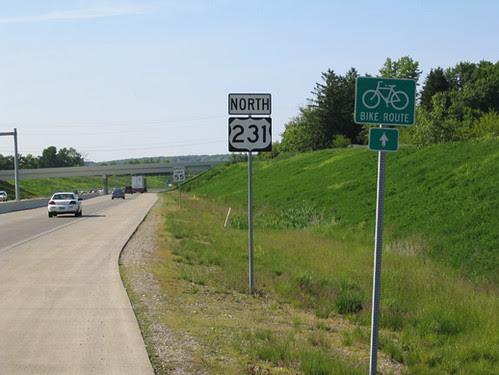 US231 Bike Lane