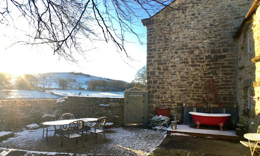 Fancy a snowy escape to the Shepherd's Cottage - next week?