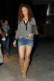 Rihanna Shorts Culo Botas