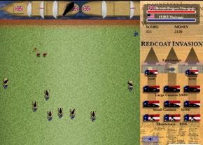 A snapshot of the #RPG Redcoat Invasion:The War for Independence! #StrategyGames #July4thGames