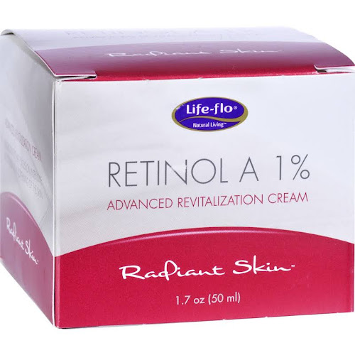 Life Flo Retinol A 1% Cream - 1.7 oz jar