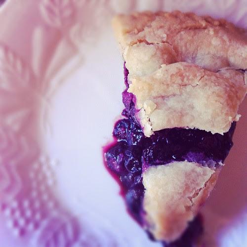 Vegan blueberry pie #vegan