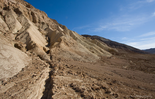 In the valley... Badwater to Golden Canyon