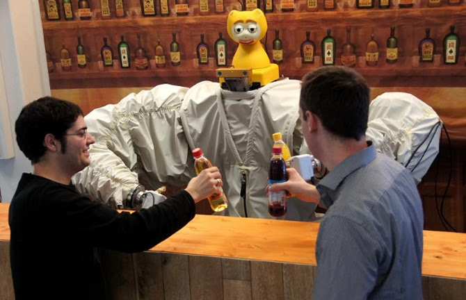 James The Robot Bartender Knows When You Want A Drink-