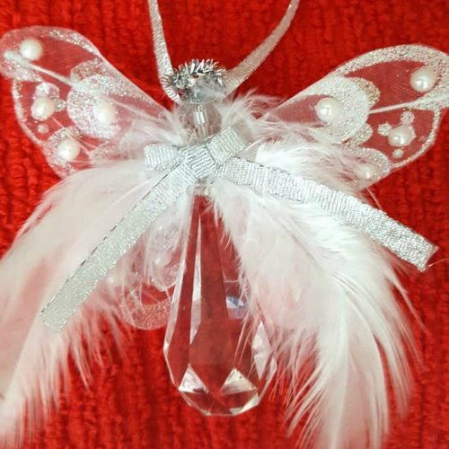 DIY Angel Ornament Tutorial - The Preacher's Wife for 25 Days of Christmas from www.thisautoimmunelife.com #Christmas #25daysofchristmas #angel #ornament #tutorial