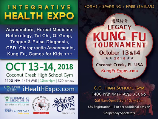 1st Annual Coconut Creek Health Fair and Kung Fu Expo