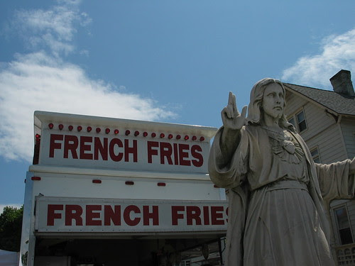 ...the kingdom and the glory and the fries...