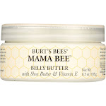 Burts Bees Belly Butter, with Shea Butter & Vitamin E, Mama Bee - 6.5 oz
