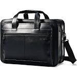 Samsonite Leather Expandable Business Case Notebook carrying case