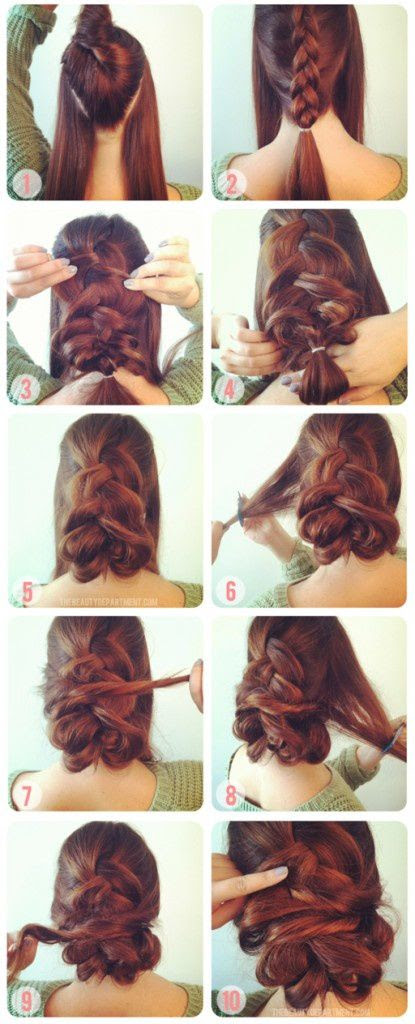 Video Tuto Coiffure Cheveux Mi Long