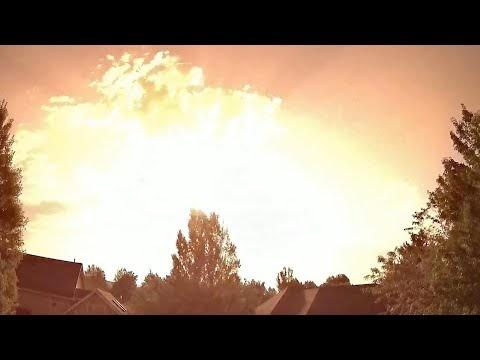 Captura en vídeo la caída de un meteorito