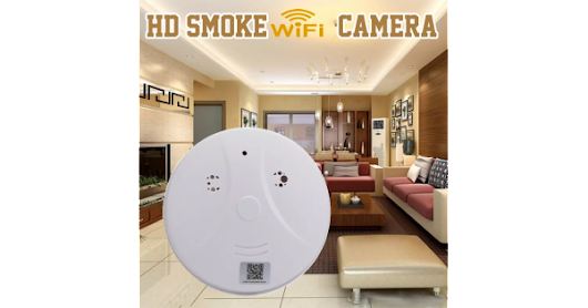 SD200 WiFi HD Smoke Detector Hidden Camera
