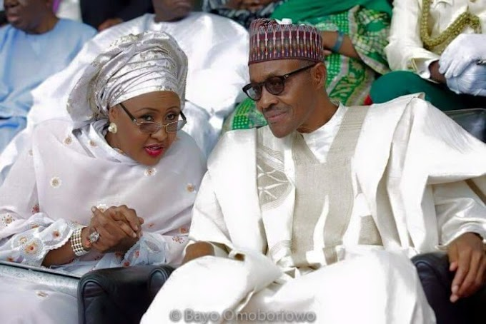 See How President Buhari Tries To Confirm Who His Wife Voted For (Watch Video)
