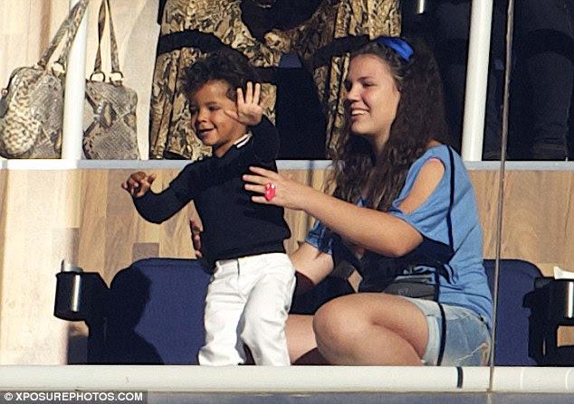 Cristiano Ronaldo Jr Mother Name