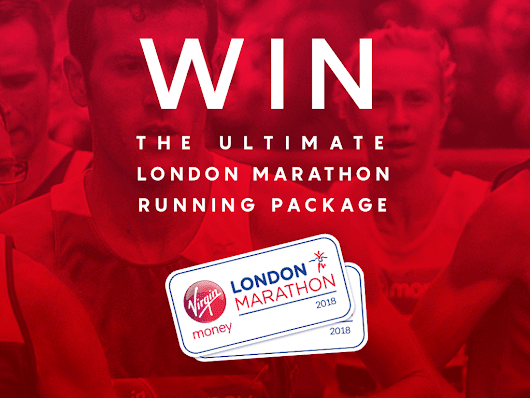 Fancy running the London Marathon like an Olympian? Then you'll love this epic prize. — Let's Do This