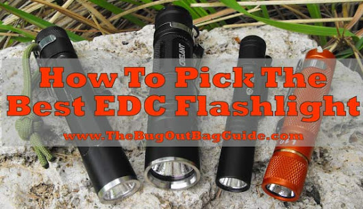 Best EDC Flashlight - Our Picks and How To Pick One For YOUR Needs