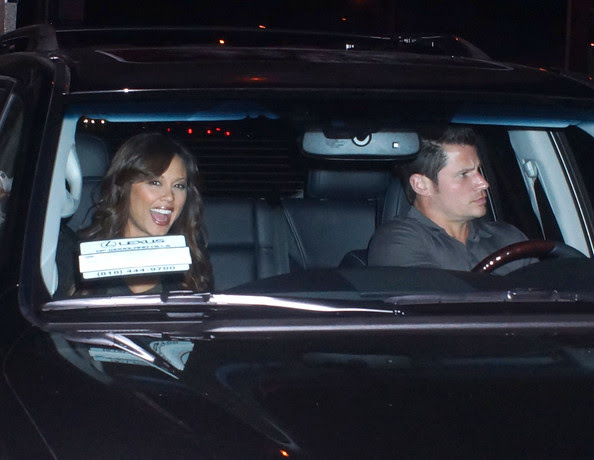 Nick Lachey - Nick Lachey And Pregnant Vanessa Enjoy A Night Out
