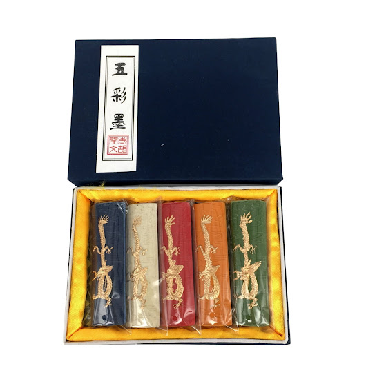 五彩龙 5 Colours Set (Dragon) - from £13.33 on Inkston