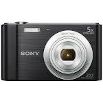 """Sony Cyber-shot DSC-W800 Digital Camera (Black)"""