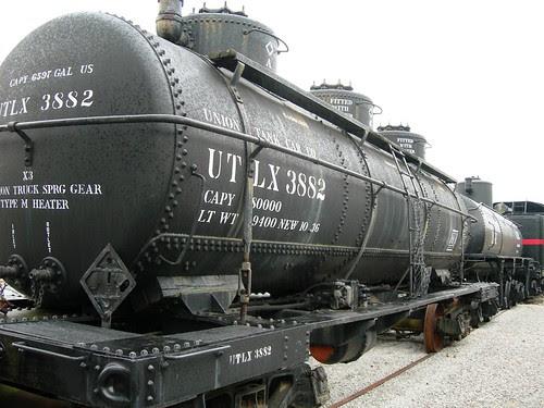 6597 gallon railroad tanker car, Museum of Transportation