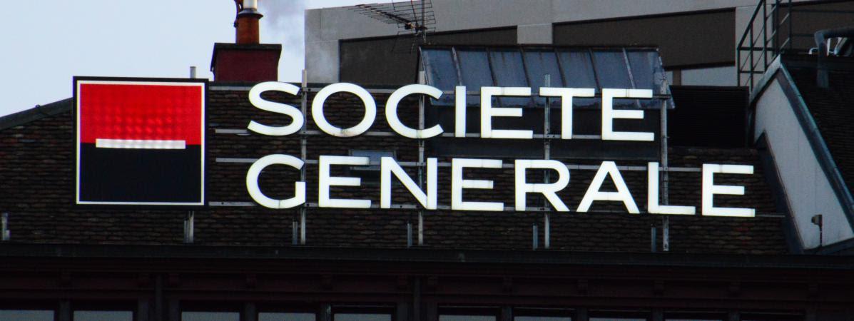 Le siège de la Société générale à Genève (Suisse), le 6 avril 2016.