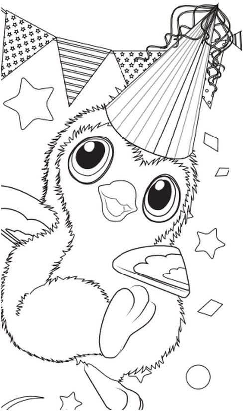 Hatchimal Coloring Pages Coloring Pages Kids 2019